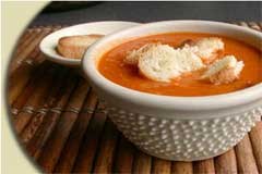 Photo of Roasted Red Bell Pepper Soup